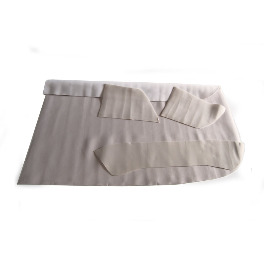 Upholstery for inside of roof (4 pieces) Citroën ID/DS-1