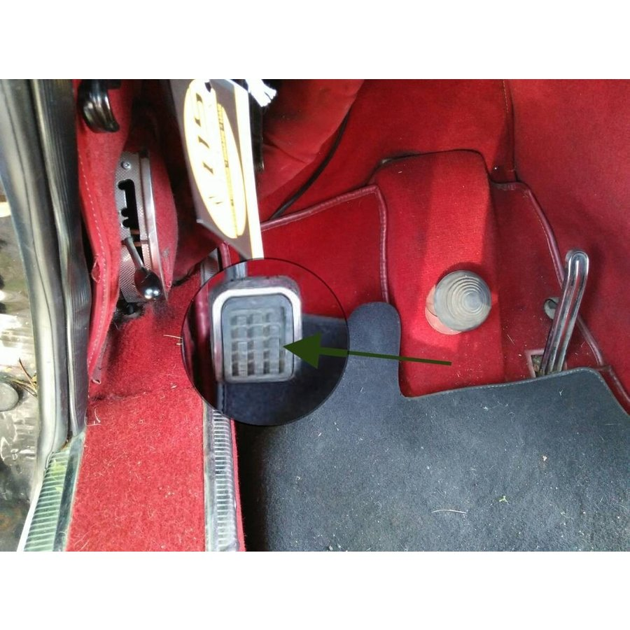 Gummipedal für Parkbremse Citroën ID/DS-3