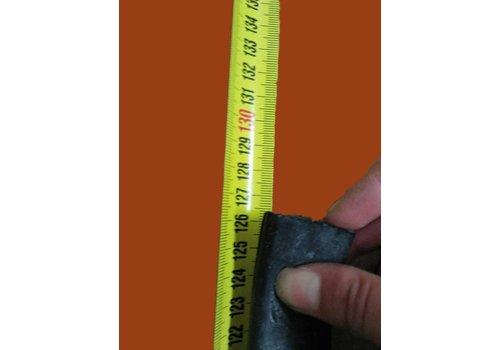 Voorspadbord rubber (L 1255 mm) Citroën ID/DS