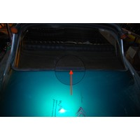 thumb-Rubber strip mounted on boot hood between rear window and boot hood (1650) Citroën ID/DS-8