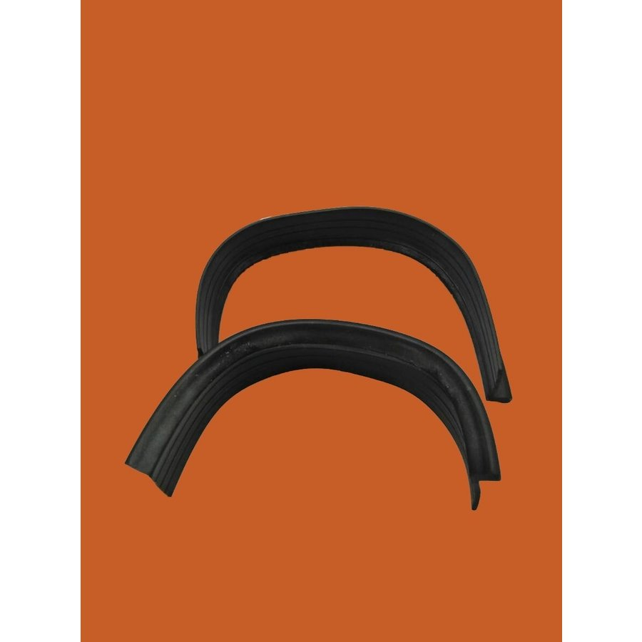 Rubber strip set on closing panel of front fender Citroën ID/DS-7