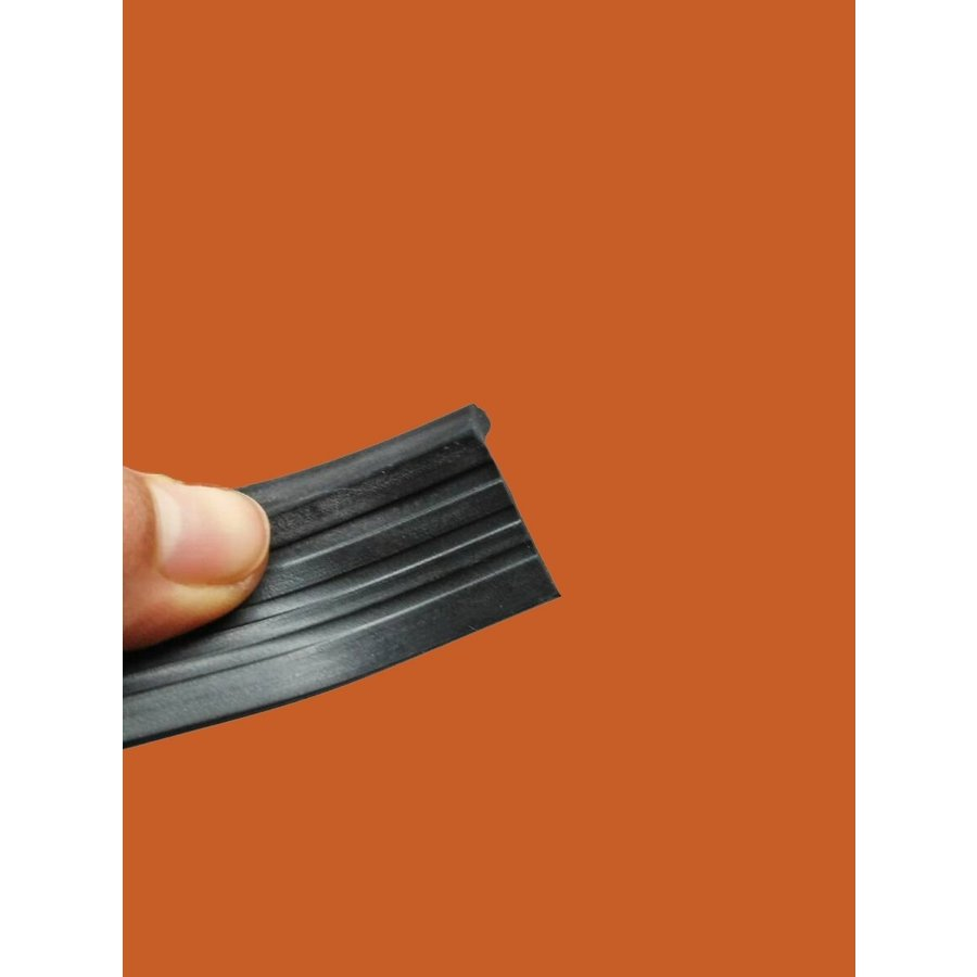 Rubber strip set on closing panel of front fender Citroën ID/DS-10