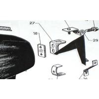 thumb-Nylon-Scheibe zur Hinterkotflügelbefestigung Citroën ID/DS-1
