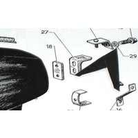 thumb-Plastic ring onder achterschermbout Citroën ID/DS-1