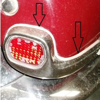 thumb-Plastic joint around the rear fender reflector (Pallas) (L 550) Citroën ID/DS-1