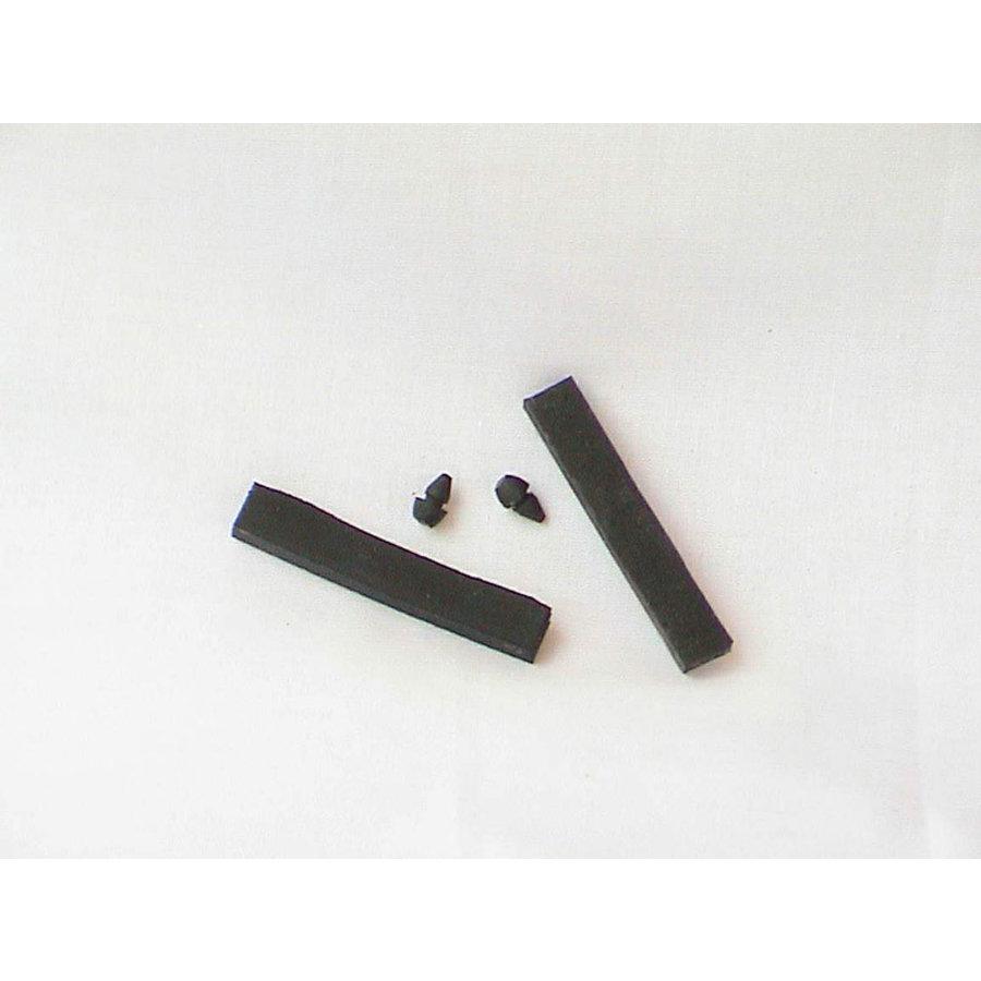 Set of rubbers for gas klap Citroën ID/DS-1