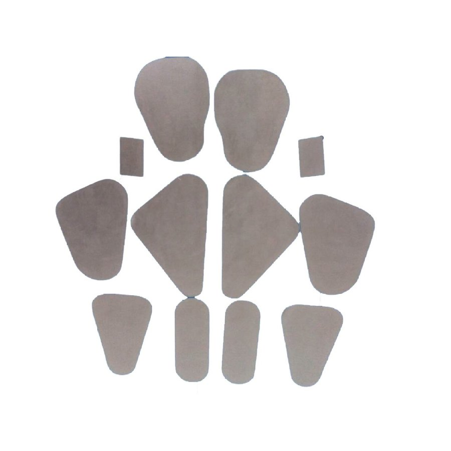 Abdichtungssatz (12 vorgefertigte Plastikteile für 4 Türen) Citroën ID/DS-4