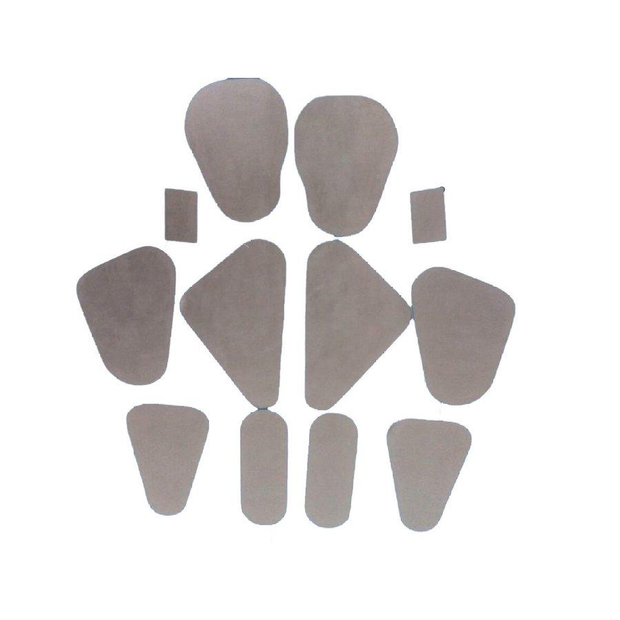 Jeu d' étancheité de porte (12 plastiques précoupés dans la forme pour 4 portes) Citroën ID/DS-4