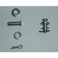 thumb-Retaining pin set for rear door non Pallas Citroën ID/DS-1