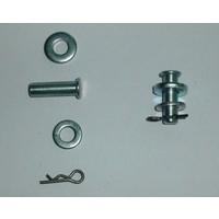 thumb-Pin set (compleet) voor deurvanger niet Pallas Citroën ID/DS-2