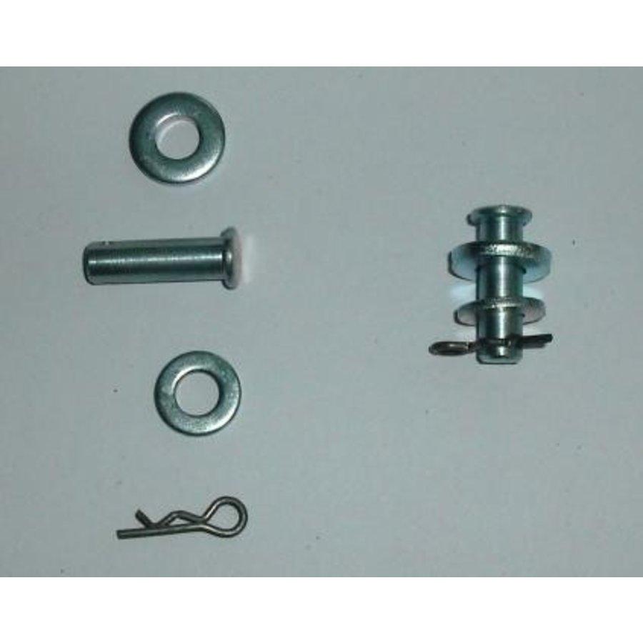 Pin set (compleet) voor deurvanger niet Pallas Citroën ID/DS-2