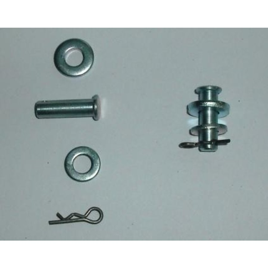 Retaining pin set for rear door non Pallas Citroën ID/DS-2