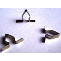 thumb-Fixing clip for the sealing strip for the interior door window Citroën ID/DS-1