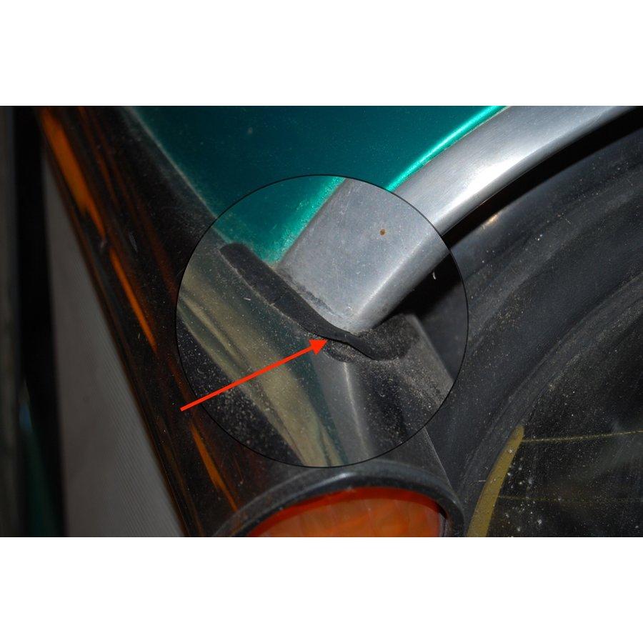 Caoutchouc de protection (en forme de queue d'hirondelle) pour clignoteur AR Citroën ID/DS-4