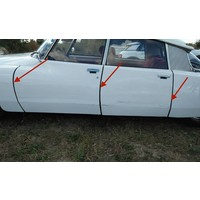 thumb-Abdichtgummisatz [6] mit Drahteinlage für Türen und Hinterkotflügel (L 700) Citroën ID/DS-3