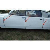 thumb-Abdichtgummisatz [6] mit Drahteinlage für Türen und Hinterkotflügel (L 700) Citroën ID/DS-4