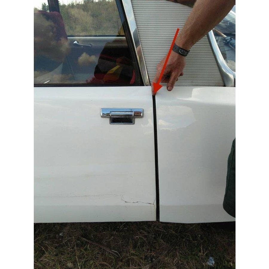 Abdichtgummisatz [6] mit Drahteinlage für Türen und Hinterkotflügel (L 700) Citroën ID/DS-6