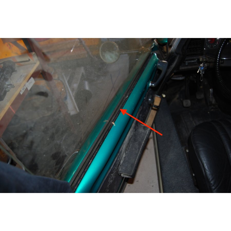 Window rubber inside front door Citroën ID/DS-3