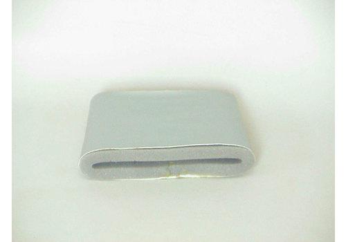 Luchibaseaatkanaal rechts zilverkleurig met mousse Citroën ID/DS