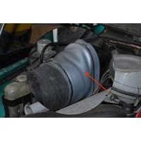 thumb-Habillage simili couleur argent garni de mousse a l'intérieur du conduit d'air D Citroën ID/DS-8