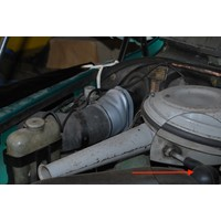 thumb-Rubber that connects the air filter to the cylinder head cover Citroën ID/DS-10