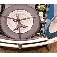 thumb-Bande de fixation de roue de rechange en coton Citroën ID/DS-4