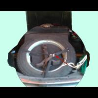 thumb-Bande de fixation de roue de rechange en coton Citroën ID/DS-5
