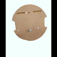 thumb-Tragplatte für Ölkanne und Jack im Reserverad Citroën ID/DS-6