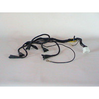 Electrical kabel set going to the injectors of the Bosch injection system with the 12-pinned white plug Citroën ID/DS