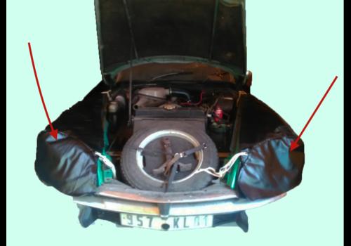 ID/DS Jeu de Garniture de protection d'aile AV [D+G] pour mechanicien Citroën ID/DS