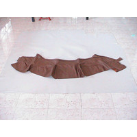 thumb-Front seat cover part outer rim of sitting brown leather Citroën SM-1