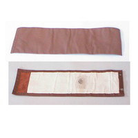 thumb-Rear bench cover part vertical part of the armrest brown leather Citroën SM-1