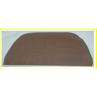 thumb-Front seat cover part 1 piece of brown leather to cover the back of the seat Citroën SM-1