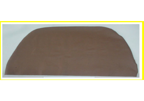 SM Front seat cover part 1 piece of brown leather to cover the back of the seat Citroën SM