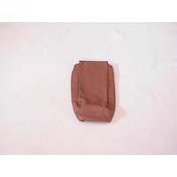 thumb-Rear bench cover part bag part of the armrest brown leather Citroën SM-2