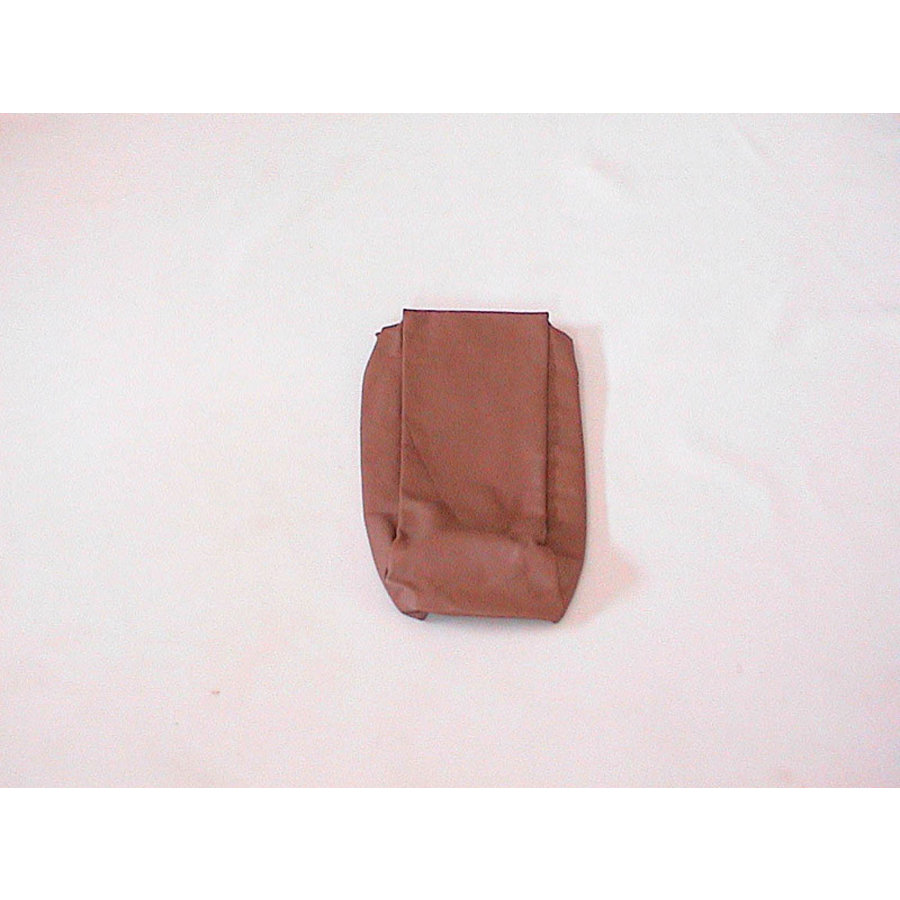 Rear bench cover part bag part of the armrest brown leather Citroën SM-2