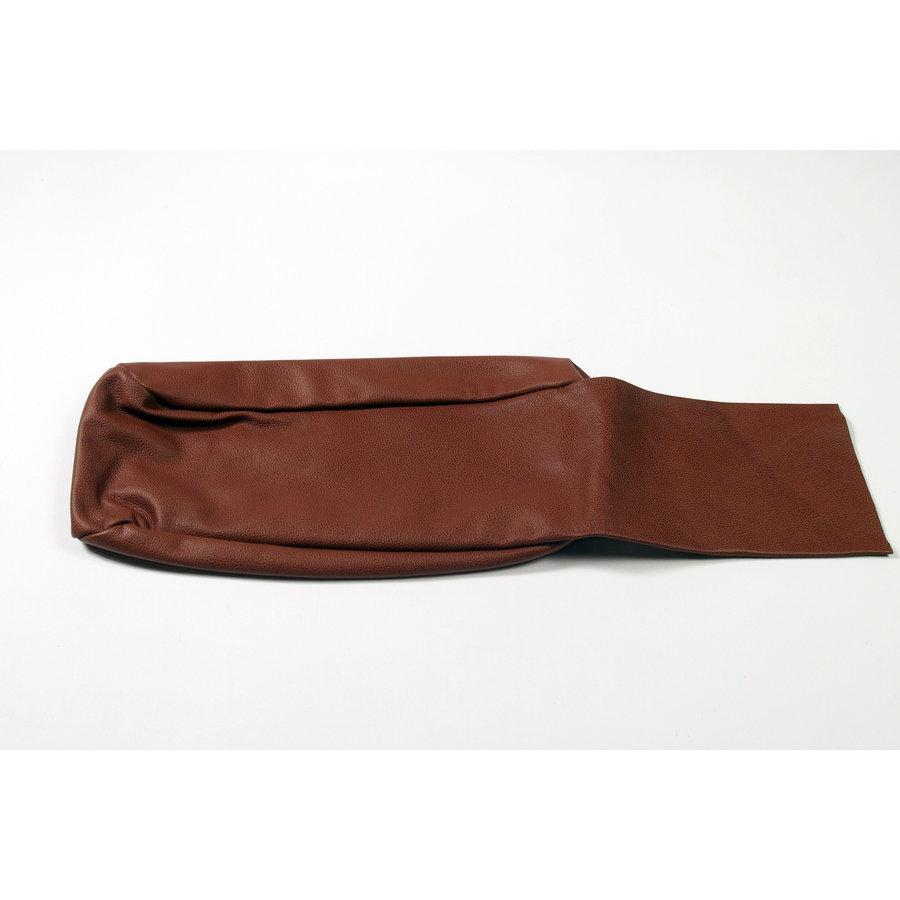 Rear bench cover part bag part of the armrest brown leather Citroën SM-4