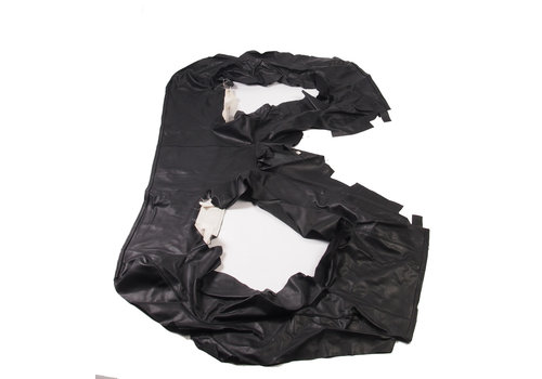 Achterbankhoes zwart leer Citroën SM