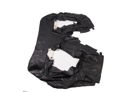 Original rear bench cover black leather (seat: 1 piece back: 4 pieces) Citroën SM