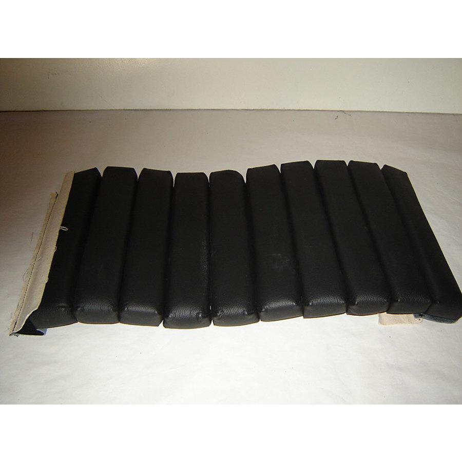 Partie de garniture de siège AV bandes intérieures de la partie assise (10 bandes) cuir noir Citroën SM-1