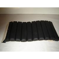 thumb-Partie de garniture de siège AV bandes intérieures de la partie assise (10 bandes) cuir noir Citroën SM-2