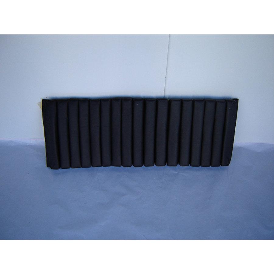 Partie de garniture de banquette AR 1 jeu de bandes intérieures (17 bandes) cuir noir Citroën SM-1