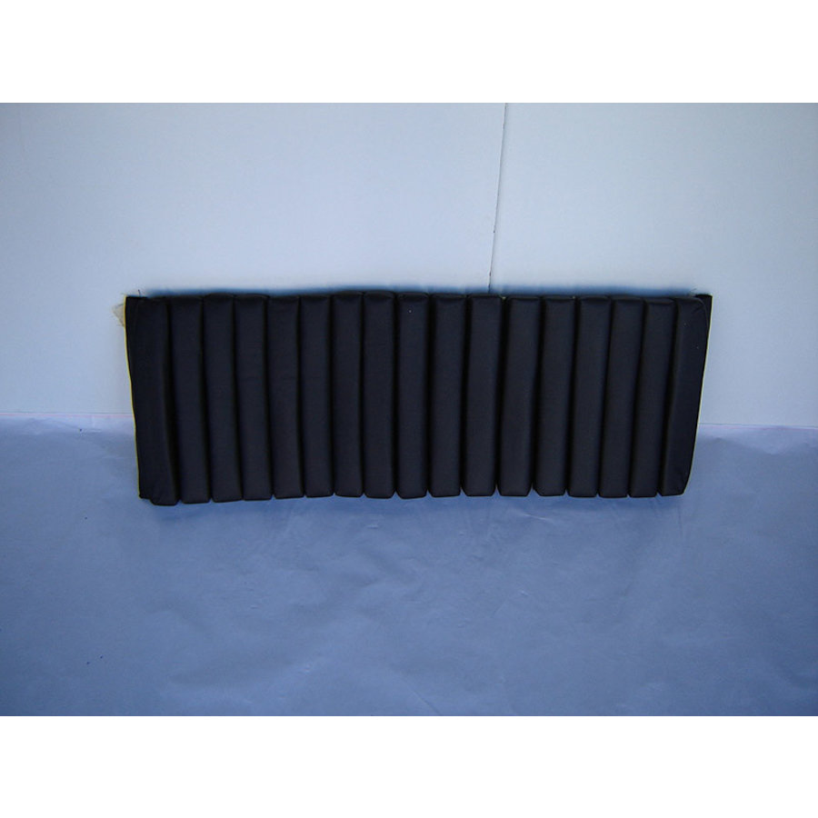 Rear bench cover part 1 inner part of seat (17 bars) black leather Citroën SM-2