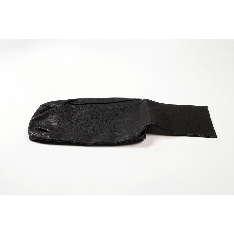 Rear bench cover part bag part of the armrest black leather Citroën SM-1