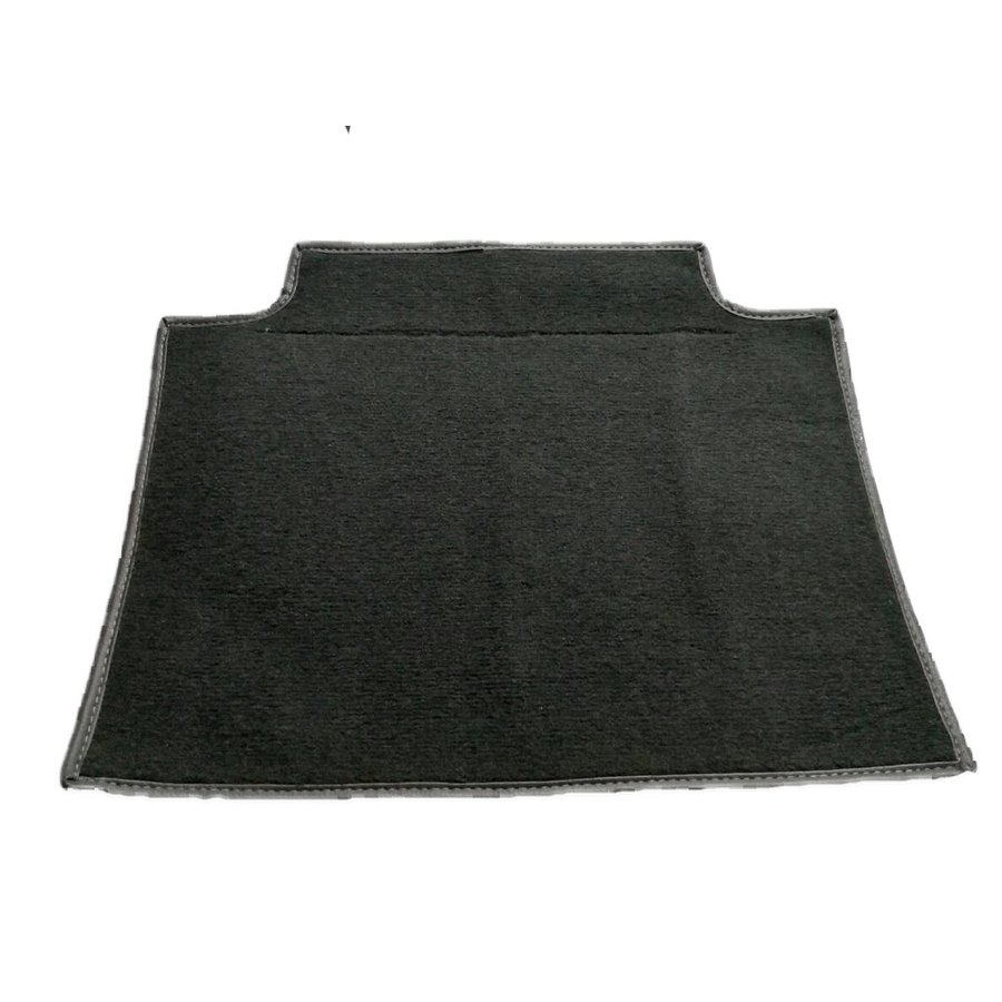 Carpet piece grey fastened to back of front seat Citroën SM-3