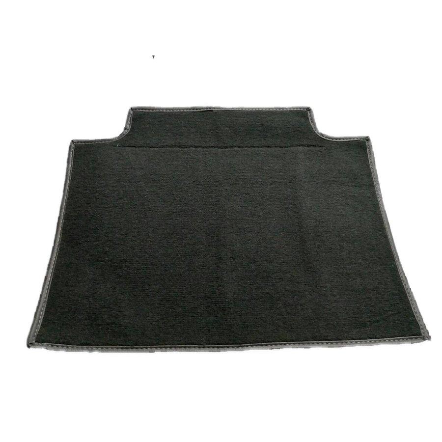 Pièce de tapisserie grise fixée au dos du siège AV Citroën SM-3