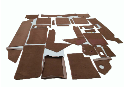 SM Complete set of carpet mat pieces brown Citroën SM