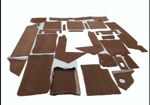 Jogo completo de tapetes cor marrom Citroën SM