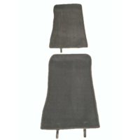 thumb-Complete set of carpet mat pieces grey [22] Citroën SM-2