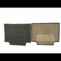 thumb-Complete set of carpet mat pieces grey [22] Citroën SM-4
